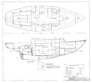 Columbia 31 Centerboard Assembly - Optional Plan