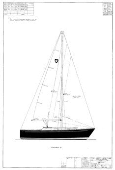 Columbia 32 Sail Plan