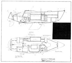 Columbia 34 Mk II Construction Drawing