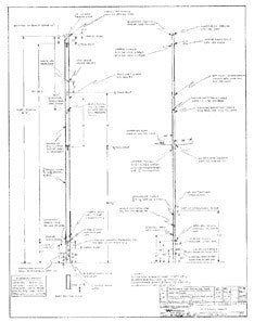 Columbia 34 Mk II Optional Mast Plan