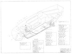 Columbia 34 Mk II Optional Plumbing Plan