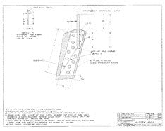 Columbia 34 Mk II Rudder Assembly Plan