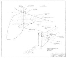 Columbia 34 Mk II Skeg Assembly Plan