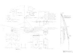 Columbia 36 Folding Mast Assembly Plan - Spinaker Pole Version