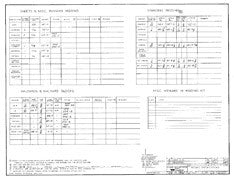 Columbia 36 Rigging Specifications Plan