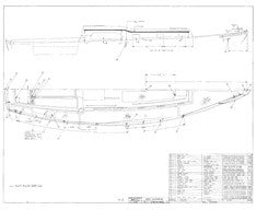 Columbia 36 Deck Hardware Plan