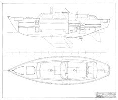 Columbia 41 Interior Arrangement Plan - Page 2