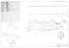 Columbia 41 Mast Assembly Plan - Ketch Rig