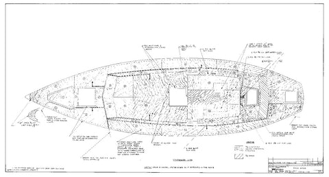 Columbia 41 Deck Wood Plan
