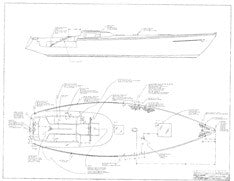 Columbia 43 Standard Deck Hardware Plan