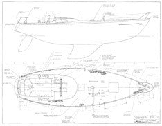 Columbia 43 Optional Deck Hardware Plan