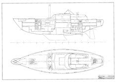 Columbia 45 Interior Arrangement Plan