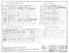 Columbia 45 Rigging Specifications Plan