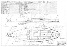 Columbia 45 Deck Hardware Plan