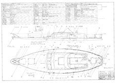 Columbia 45 Deck Hardware Plan - Optional
