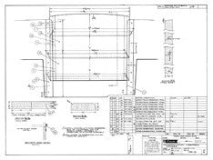 Columbia 45 Companionway Cibboards & Slides Plan
