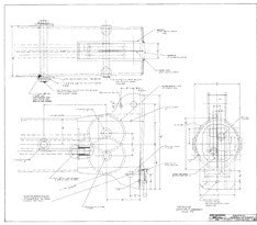 Columbia 50 Masthead Internal Sheave Plan