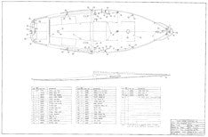 Columbia Challenger Deck Hardware Layout Plan