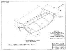 Columbia Yachts Dolly Handling, Hull Plan