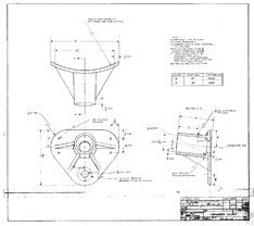 Columbia Yachts Spreader Socket Plan