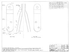 Columbia Yachts Lower Tang Set Plan