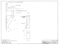Columbia Yachts Bracket Assembly Plan - Panting Rod