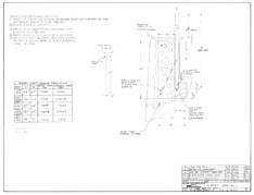 Columbia Yachts Rudder Assembly Plan