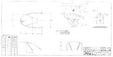 Columbia Yachts Forward Pulpit Plan