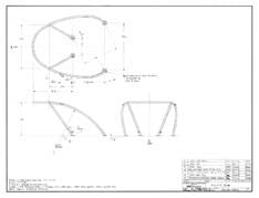 Columbia Yachts Bow Pulpit Plan