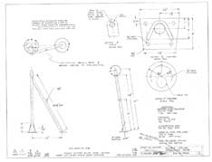 Columbia Yachts Double Lifeline Stanchion Gate Plan