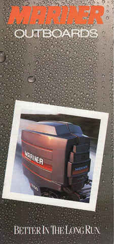 Mariner 1987 Mini Outboard Brochure