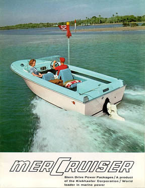 Mercury 1964 Mercruiser Stern Drives Brochure