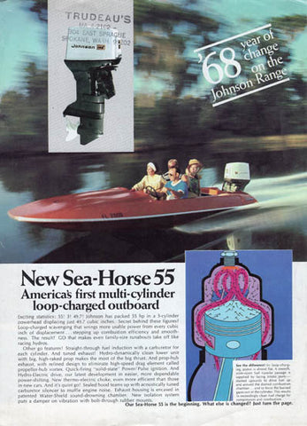 Johnson 1968 What's New Brochure