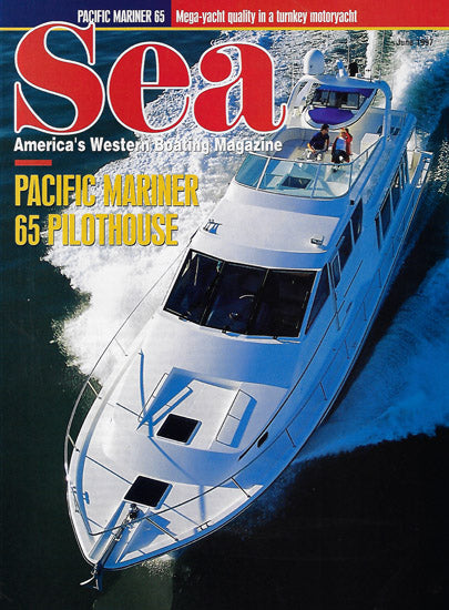 Pacific Mariner 65 Sea Magazine Reprint Brochure