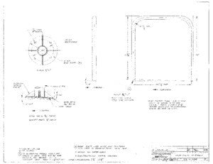 Columbia Yachts Mast Pulpit Assembly Plan