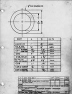 Columbia Yachts Rudder Shaft Washer Plan