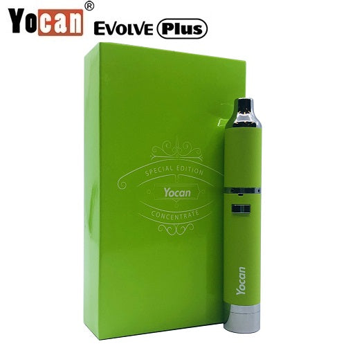 The Yocan Evolve Plus Lime Pastel Limited Edition