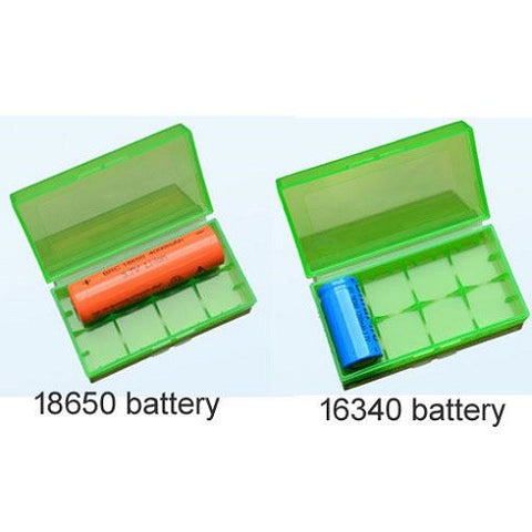 Battery Storage Case for 18650, 18350, 16340, and CR123A Batteries