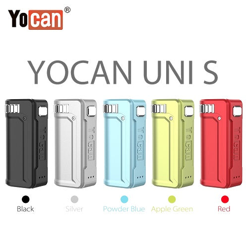1 Yocan Uni S Cartridge Battery Mod Colors Vape Pen Sales
