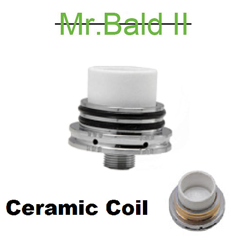 Mr Bald II Ceramic Replacement Coil for Baking Dry Herb Atomizer
