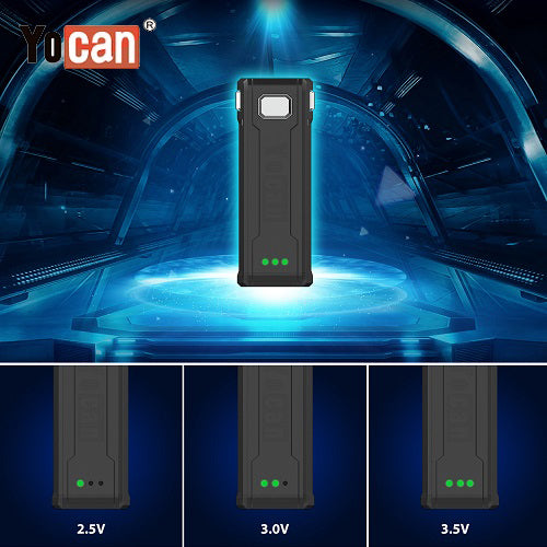 4 Yocan Uni S Cartridge Battery Mod Variable Voltage Vape Pen Sales