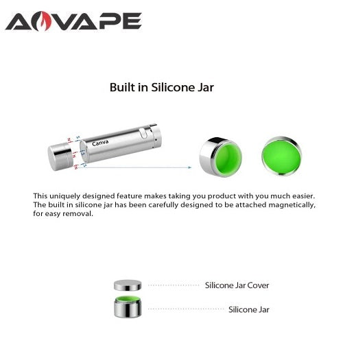 AOVape Canva Replacement Dab Jar Vape Pen Sales