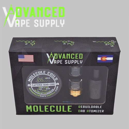 AVS Molecule 15mm RDA Wax Atomizer Vape Pen Sales