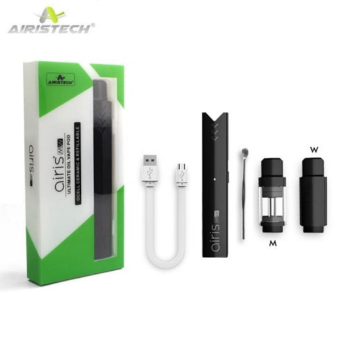 Airistech airis MW 2-In-1 Wax and Thick Oil Pod System Vaporizer Kit - Vape Pen Sales