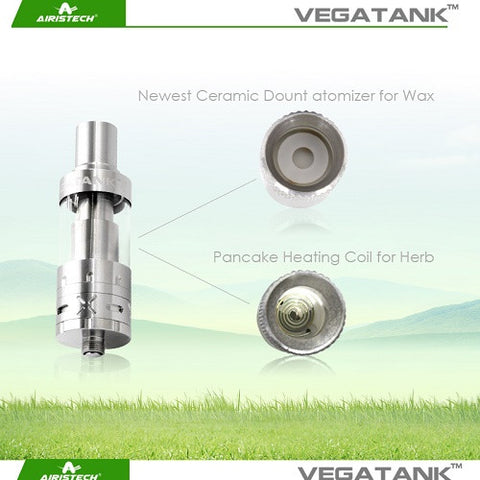 Airistech Vegatank Wax and Dry Herb Sub Ohm Atomizer
