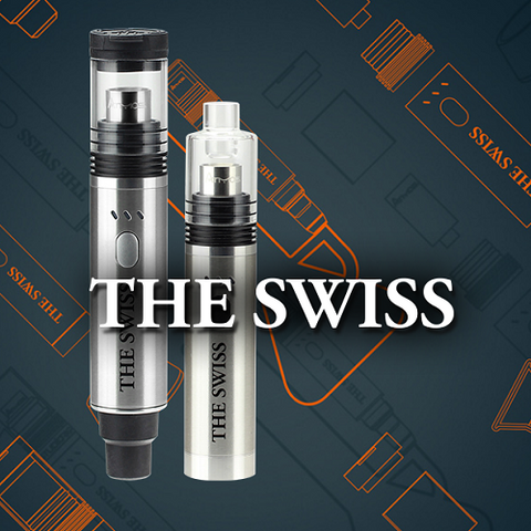 Atmos The Swiss Wax and Dry Herb Vaporizer Kit