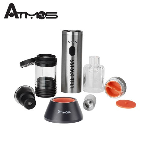 Atmos The Swiss Wax and Dry Herb Vaporizer Kit Vape Pen Sales