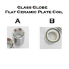 Glass Globe Replacement Wax Coil - Ceramic Disk/Plate