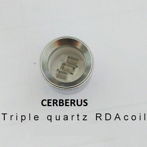 Cerberus/RDA Triple Quartz Rod Replacement Wax Coils