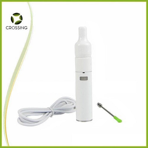 Crossing V2.5 Ceramic Donut Sub Ohm Wax Pen Kit Vape Pen Sales